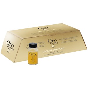 Fanola Oro Therapy Lozione Oro Puro Восстанавливающий лосьон с кератином