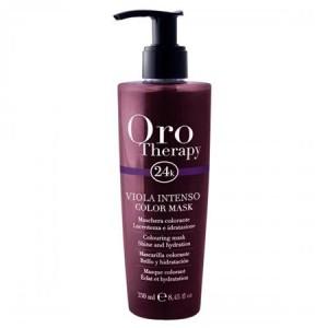 "Fanola Oro Therapy Viola Intenso Color Mask Тонирующая маска для волос ""Фиолетовая"""
