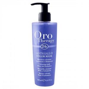 """Fanola Oro Therapy Antigiallo Color Mask Тонирующая маска для волос """"С антижелтым эффектом"""""""