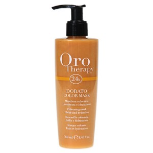 "Fanola Oro Therapy Dorato Color Mask Тонирующая маска для волос ""Золотистая"""