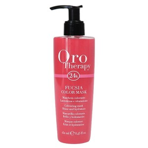 "Fanola Oro Therapy Fucsia Color Mask Тонирующая маска для волос ""Фуксия"""