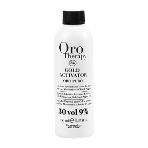 Fanola Oro Therapy Gold Activator Oro Puro 30 Vol 9% Окислитель с микрочастицами золота 9%