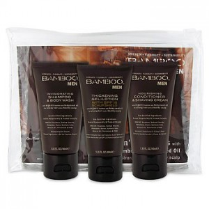 ALTERNA BAMBOO MEN On-The-Go Travel Set Мини набор для мужчин
