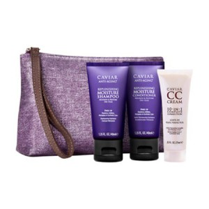 ALTERNA CAVIAR Travel Set Дорожный набор: Moisture Shampoo+Conditioner+CC Cream