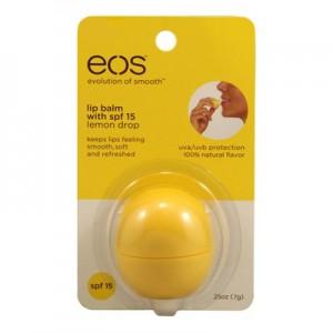 EOS Lip Balm Smooth Sphere Бальзам для губ Лимон SPF 15