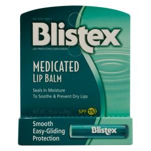 Blistex Medicated Lip Balm Лечебный бальзам для губ SPF 15