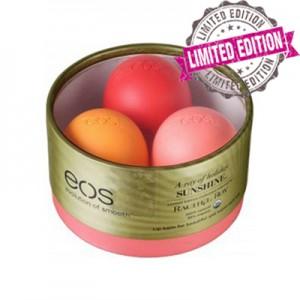 EOS 3 Pack Smooth Rachel Roy Limited Edition Лимитированный набор из 3-x смягчающих и увлажняющих бальзамов для губ