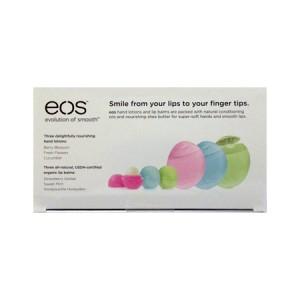 EOS Kit Набор 3 Бальзама + 3 Крема для рук
