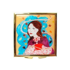 """Andrea Garland Face Products """"Autumn"""" Сompact Аull of Honeysuckle Beauty Balm Бальзам """"Жимолость"""" в компактной упаковке - осень"""