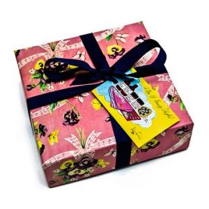 """Andrea Garland Set Подарочный набор """"Анютины глазки и музыкальные ноты"""""""