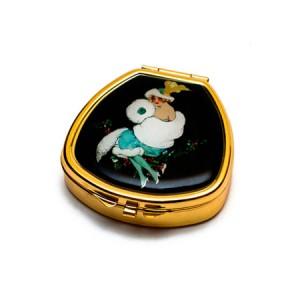 "Andrea Garland Lip Balm Vintage Inspired Pill Box - Lilian Бальзам для губ в футляре ""Лилиан"""
