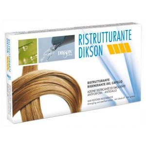 Dikson Ristrutturante Восстанавливающий комплекс для волос в ампулах 12 х 12 мл