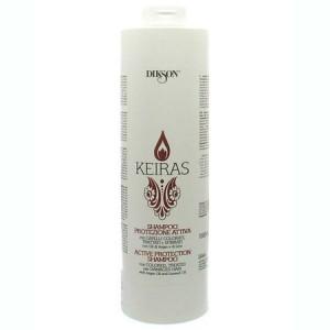 Dikson Keiras Shampoo Active Protection Шампунь активная защита с маслом арганы и экстрактом семян льна 1 л