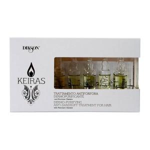 Dikson Keiras Anti-Dandruff and Purifying Treatment Себобалансирующий ампульный уход 8 х 10 мл