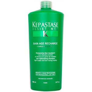 Kerastase Resistance Bain Age Recharge Шампунь-ванна для волос 1 л