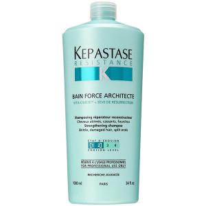 Kerastase Resistance Bain Force Architecte Shampoo Шампунь-ванна для тонких и поврежденных волос 1 л