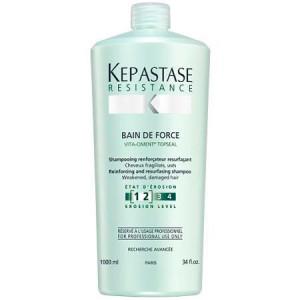 Kerastase Resistance Bain De Force Шампунь-ванна для глубокого восстановления поврежденных и ослабленных волос 1 л