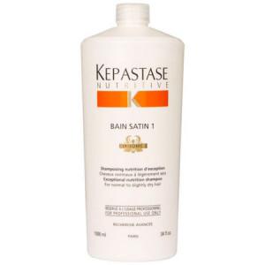 Kerastase Nutritive Bain Satin 1 Шампунь для сухих и чувствительных волос 1 л