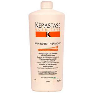 Kerastase Nutritive Bain Nutri-Thermique Термоактивный шампунь для интенсивного питания очень сухих и ослабленных волос 1 л