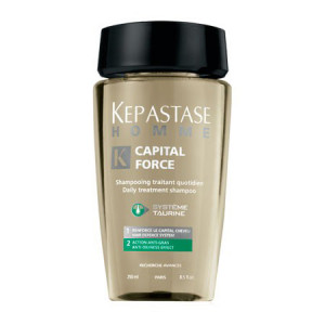 Kerastase Homme Capital Force Daily Treatment Shampoo Anti-Oilness Effect Шампунь-ванна для жирных волос 250 мл