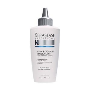 Kerastase Specifique Bain Exfoliant Hydratant Отшелушивающий шампунь-ванна от перхоти для сухой кожи головы 200 мл