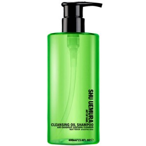 Shu Uemura Art of Hair Cleansing Oil Shampoo Anti-Dandruff Soothing Cleanser Шампунь с очищающим маслом против перхоти 400 мл