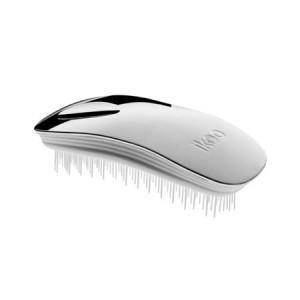 Ikoo Home Brush Silver Metallic Edition White Body Расческа Цвет: Серебристый с белым