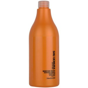 Shu Uemura Art of Hair Moisture Velvet Nourishing Shampoo Питательный шампунь для сухих волос 750 мл