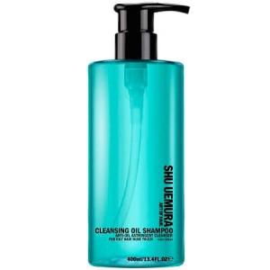 Shu Uemura Art of Hair Cleansing Oil Shampoo Anti-Oil Astringent Cleanser Шампунь с очищающим маслом для жирной кожи 400 мл