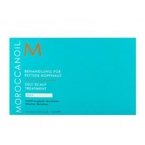 "Moroccanoil Oily Scalp Treatment ""Tube"" Средство для лечения жирной кожи головы в ампулах"
