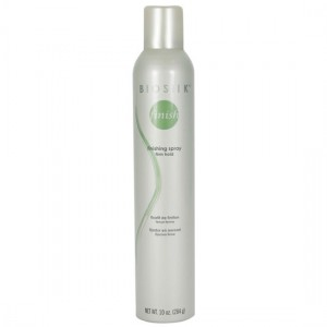 Biosilk Silk Therapy Finishing Spray Firm Hold Лак сильной фиксации с натуральным шелком