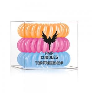 Hair Bobbles HH Simonsen Резинка-браслет для волос Набор: Happy mix 3 шт