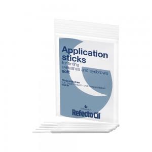 RefectoCil Application Sticks Soft Аппликаторы для нанесения краски мягкие Цвет: Белый