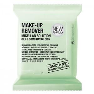 Comodynes Make-Up Remover Micellar Solution Oily & Combination Skin Мицеллярные салфетки для снятия макияжа, для жирной кожи