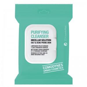 Comodynes Purifying Cleanser Micellar Solution Oily & Acne Prone Skin Очищающие салфетки, для жирной и проблемной кожи