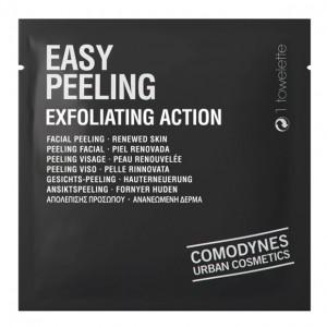 Comodynes Hygiene Facial Easy Peeling Exfoliating Action Cалфетки-пилинг для лица и тела с отшелушивающим эффектом