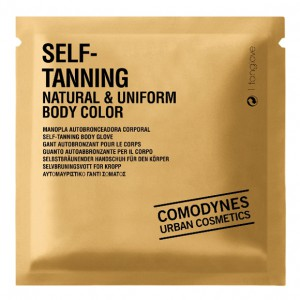 Comodynes Autosunburn Self-Tanning Natural & Uniform Body Color Рукавица-автозагар для тела натуральный ровный цвет