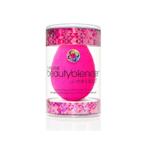 "BeautyBlender Original + Blendercleanser Solid Blender Cleanser Набор ""Спонж и маленькое мыльце"""