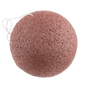 The Konjac Sponge Co Face Sponge With Nourishing Mineral Rich Red Clay Спонж конняку для лица с красной глиной