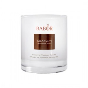 Babor SPA Balancing Cashmere Wood Soothing Massage Candle Массажная арома-свеча с тёплым древесным ароматом