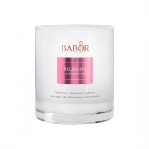 Babor SPA Relaxing Lavender Mint Calming Massage Candle Массажная арома-свеча из лаванды и мяты