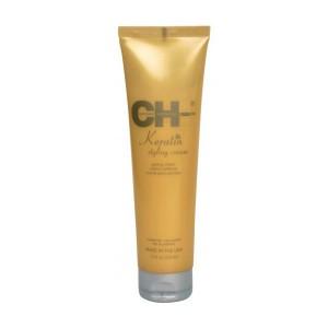 CHI Keratin Styling Cream Крем для укладки с кератином для поврежденных ломких волос 133 мл