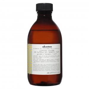 Davines Alchemic Shampoo for Natural and Coloured Hair Golden Шампунь для натуральных и окрашенных волос (золотой)