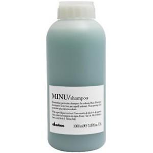 Davines Essential Haircare Minu Shampoo Защитный шампунь для сохранения косметического цвета волос