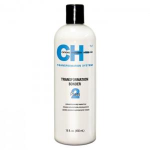 CHI Transformation Solution System Phase 2 Bluе Выпрямляющий закрепитель для осветленных, пористых или тонких волос 450 мл