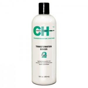 CHI Transformation Solution System Phase 3 Green Выпрямляющий закрепитель для окрашенных или химически обработанных волос 450 мл