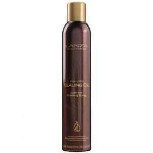 Lanza Keratin Healing Oil Lustrous Finishing Spray Универсальный фиксирующий спрей для завершения укладки