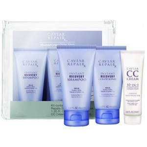 ALTERNA CAVIAR Travel Kit Дорожный набор: Repair RX Shampoo+Conditioner+CC Cream