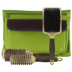 Macadamia Natural Oil HAIR LUXURY Set Brush Bag Набор брашингов для парикмахера