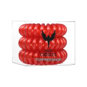 Hair Bobbles HH Simonsen Christmas Red Резинка-браслет для волос Цвет: Рождественский красный 3 шт